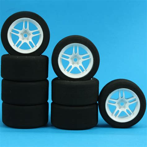 Mini Sponge Tire Set yeah racing 1 10 mini foam tire set wl 2006wt f