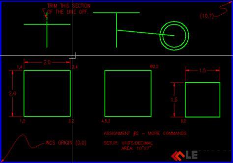 layout trong autocad là gì b 192 i 1 3 vẽ h 204 nh chử nhật v 192 một số lệnh sửa đổi học