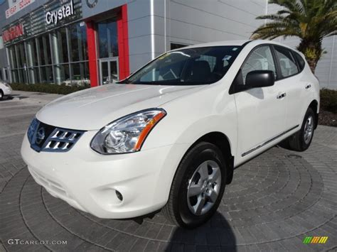nissan white rogue 2012 pearl white nissan rogue s 61074968 photo 4