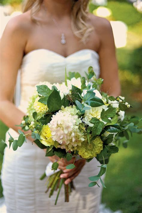 Wedding Bouquet Foliage by Wedding Bouquet Southern Living