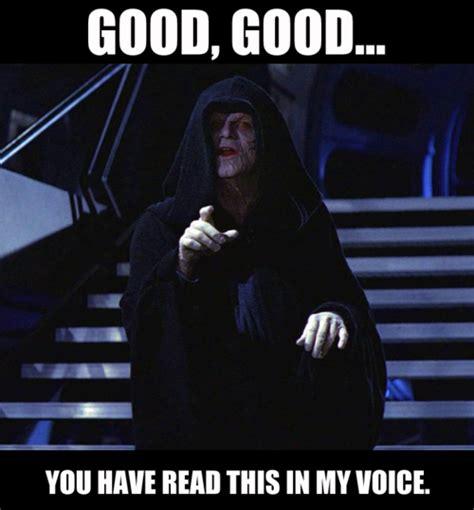 Emperor Palpatine Meme - el blog de los perspectivos star wars memes