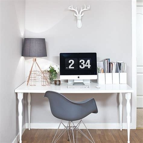 white bedroom table ls 25 best ideas about grey office on office