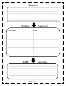 It Solution Template by Problems And Solutions Anchor Chart And Free Graphic
