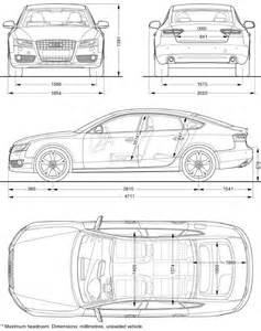 Audi A5 Dimensions Audi A5 Sportback Dimensions Graphic