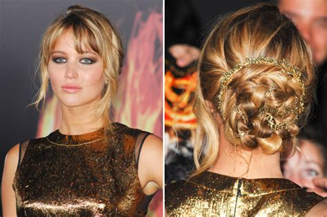 haircut hunger games get the look jennifer lawrence s the hunger games