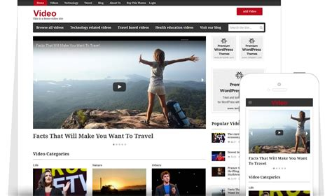 themes video com best wordpress video theme of 2017 create your own video