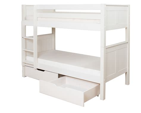 Bunk Bed With Drawers Classic Bunk Bed With Underbed Drawers By Stompa
