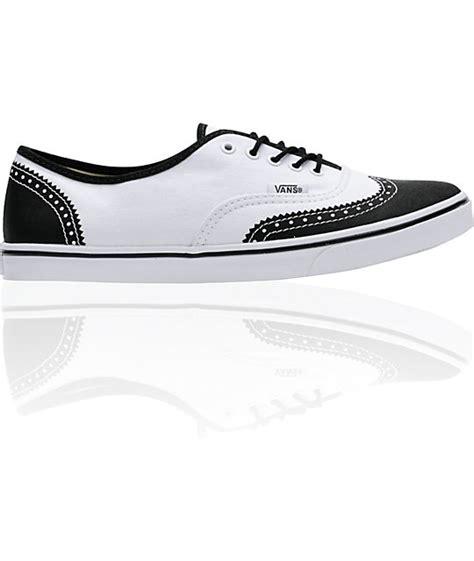 Vans Authentic Oxford vans authentic lo pro white printed oxford shoe at zumiez pdp