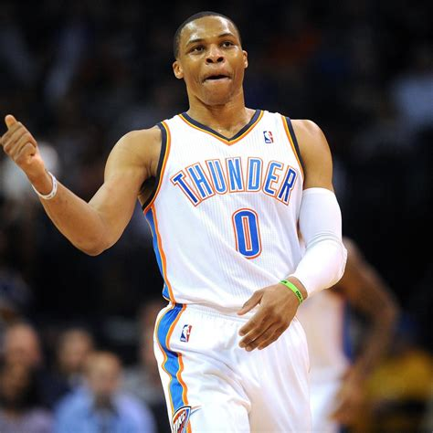 Kaos Russel Westbrook Logo Must 2 westbrook logs 2nd fastest as thunder beat sixers bleacher report