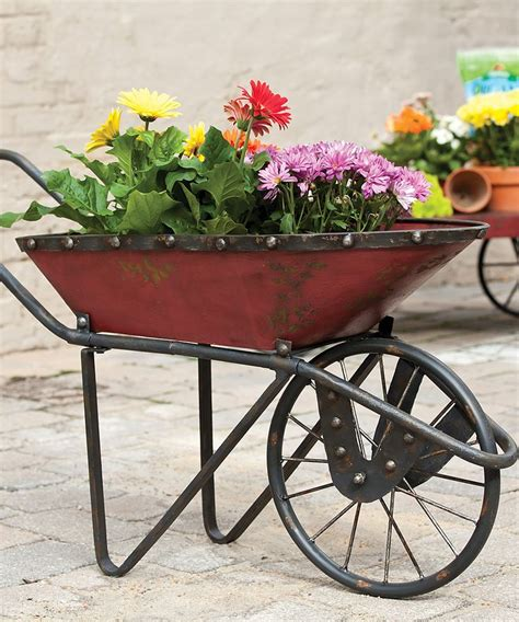 Wheelbarrow Planter by Wheelbarrow Planter Creative Ideas