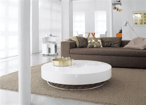table basse design en blanc brillant 30 id 233 es tendance