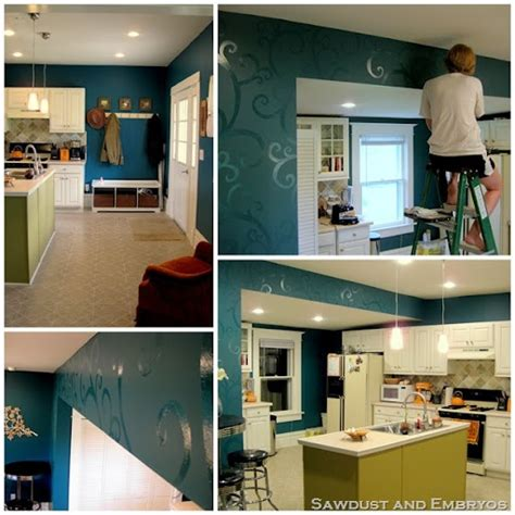 1000 ideas about teal kitchen walls on