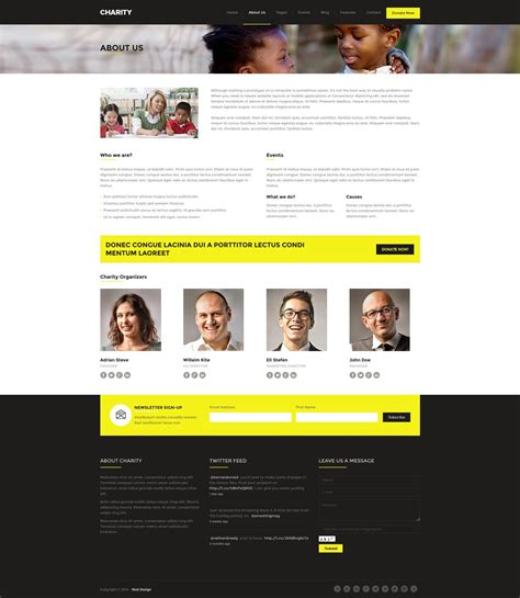 theme foundation charity foundation fundraising wordpress theme by