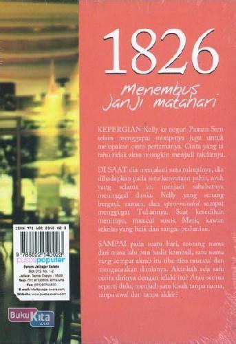 Novel Harlequin Janji Abadi bukukita 1826 menembus janji matahari