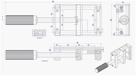 Kitchen Drawings by Drill Press Vise Plan