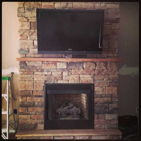 best 25 stacked rock fireplace ideas on