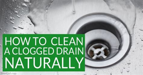 how to clean bathtub drain with vinegar how to naturally clean a clogged drain the definitive