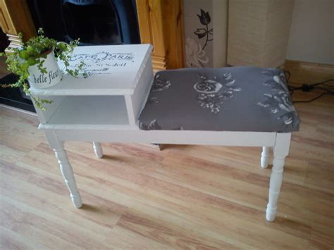 shabby chic telephone table shabby chic upcycled telephone table for sale in tramore