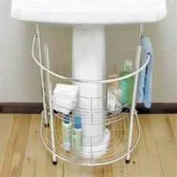 Bathroom Under Sink Storage under sink storage for a small bathroom pedestal sink