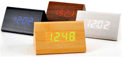 Led Jam Digital Kayu Wood Clock Unik Dan Murah led digital wood clock jk 828 brown jakartanotebook