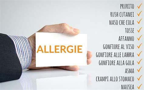 allergia alimentare al nichel sintomi allergie pi 249 comuni gatto lattice intolleranze