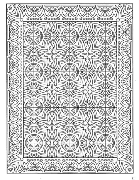 tile pattern book dover decorative tile coloring book dover coloring