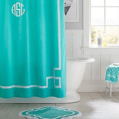 curtain pool emma ribbon trim shower curtain pool pbteen