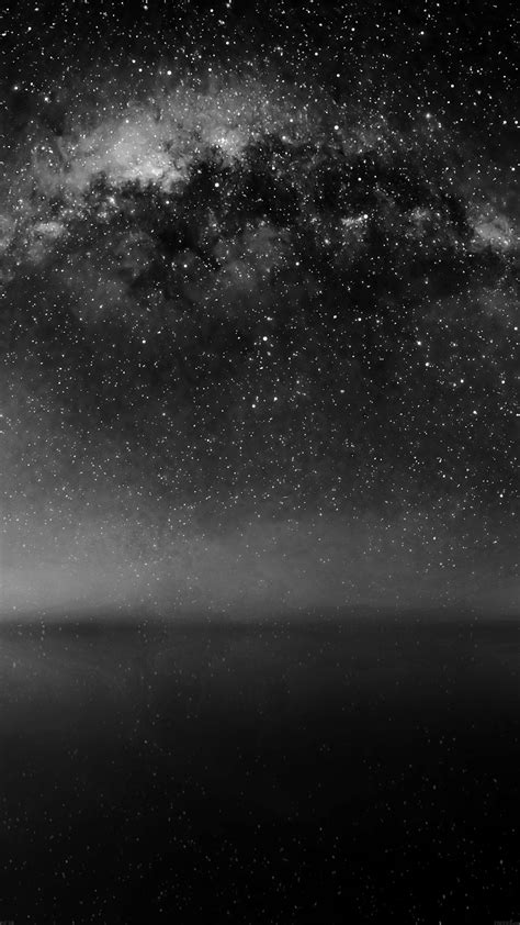 Wallpaper Dark Phone | nice cosmos dark night live lake space starry iphone6 plus