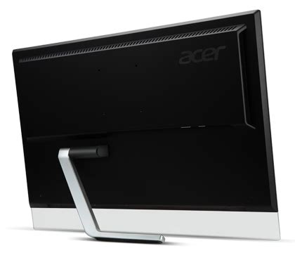 Dijamin Monitor Acer T232hl 23 Ips Touchscreen acer t232hl ips 23 quot 5ms hdmi hd led touch monitor with speaker usb t232hl mwave au