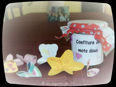 Diy Pot De Confiture by Diy Tuto Pot De Confiture 224 Mots Doux Cadeau F 234 Te Des