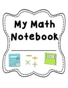maths book cover template 53 best images about math notebooks on fact