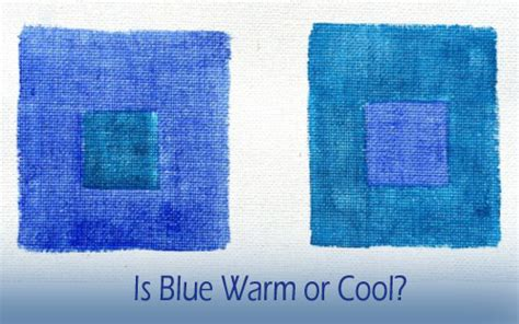 warm blue color is the temperature of blue warm or cool celebrating color