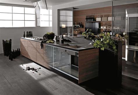 valcucine kitchen artematica noce tattile by valcucine stylepark