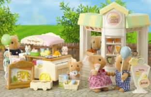 Wedding Dress Shops Sylvanian Families Pancake Shop And Toy Stall Street Market Toys Zavvi Com