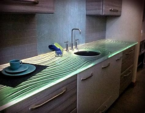 Thick Glass Countertops pin by studio l glassworks on glass countertops