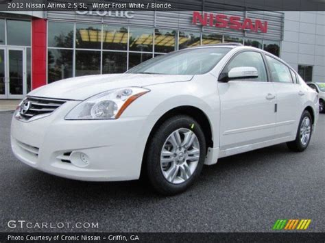 nissan altima white 2012 winter white 2012 nissan altima 2 5 sl