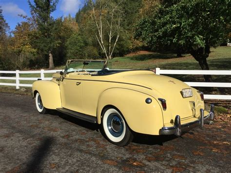 Chrysler Convertibles by 1940 Chrysler New Yorker Convertible For Sale