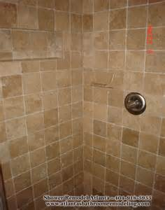 travertine bathroom tile ideas medium square travertine tile shower not a fan