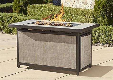 Outdoor Pit With Lid Cosco Outdoor Serene Ridge Aluminum Propane Gas Pit