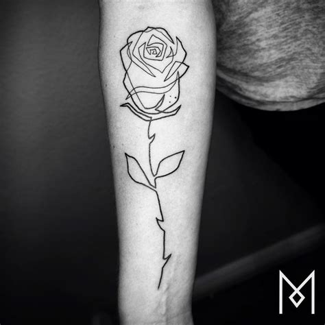 single line tattoo 20 minimalistic single line tattoos by mo ganji