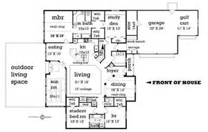 2500 sq ft house plans single story craftsman style house plan 4 beds 2 5 baths 2500 sq ft