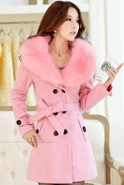 Bulu Korea Pink jaket bulu wanita pink fur jacket jyza1809pink coat