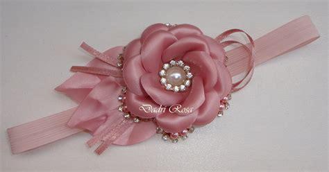 C Tiara tiaras luxo flor perolas c cetim ros 234 dadri rosa