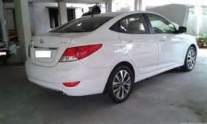 Hyundai Verna 1 6 Sx Crdi Updated Hyundai Fluidic Verna 1 6 Sx Crdi 2013 My White