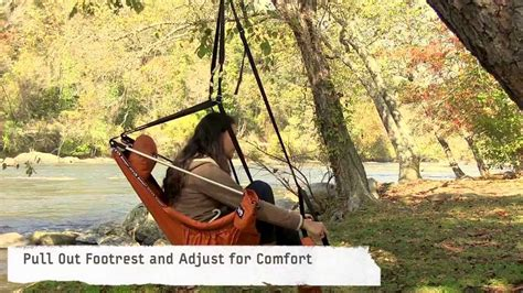 Backyard Creations Hanging Lounger Eno How To Lounger Set Up