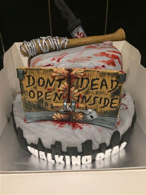 Walking Dead Cake Decorations by Best 25 Walking Dead Cake Ideas On Walking
