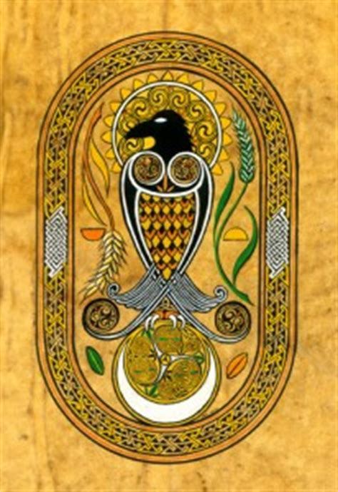 gaelic new year owl s wings wishing you a blessed samhain and celtic new year