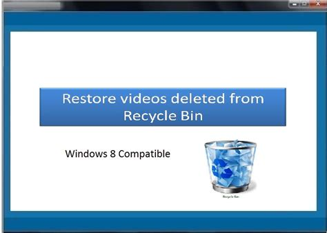 recycle bin data recovery software free download full version with crack restore deleted videos from recycle bin full windows 7