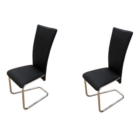 armchair group black 2 chairs chair group dining chairs furniture
