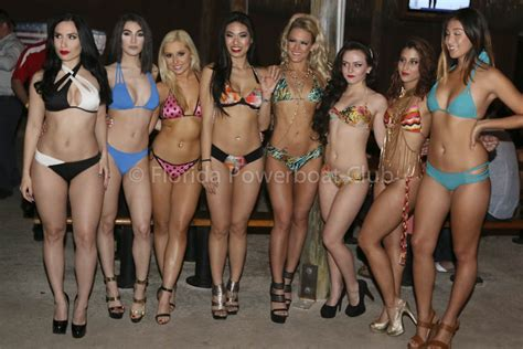 miami boat show poker run 2016 2016 miami boat show poker run fpc bikini contest